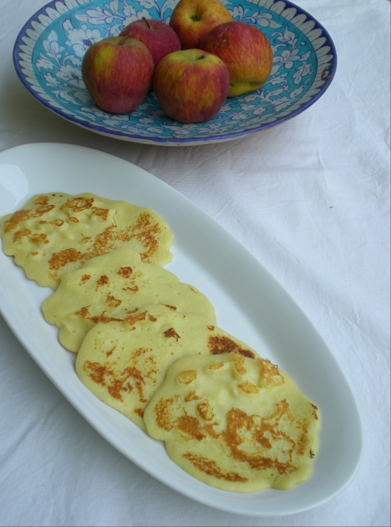 Anglo-Indian 'Scotch' Pancakes