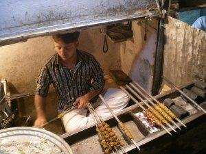 Gola Kebabs in Chitli Qabar Old Delhi