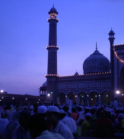 Iftar at Jama Masjid