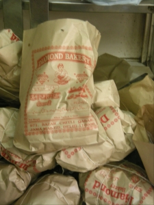 Diamond Bakery bags