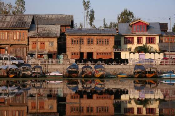 Srinagar waterfront