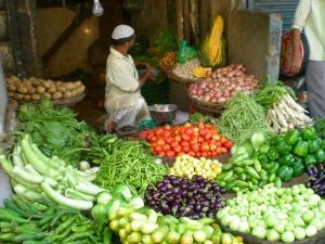 Vegetable Market Chitli Qabar